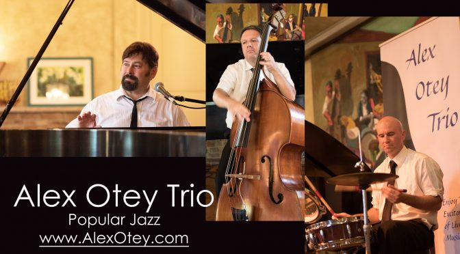 <b>Alex Otey Trio</b><br>Friday, March 2 — 8:00 PM