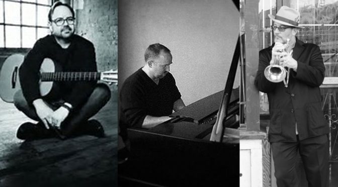 <b>Vin Downes, Tom Eaton & Jeff Oster</b><br>Saturday, October 7 — 8:00 PM