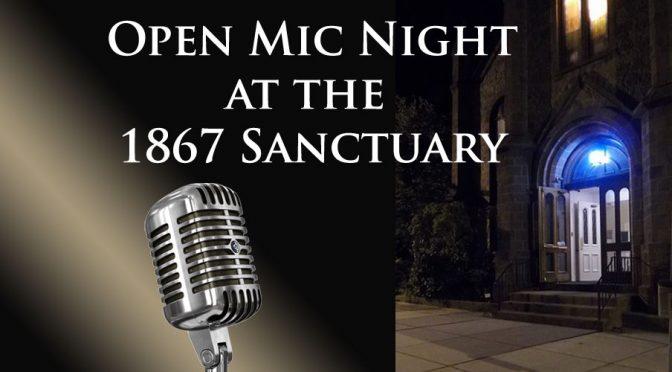 <b>Open Mic Night</b><br>Friday, April 27 — 7:00 PM