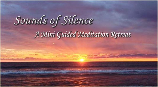 <b>CANCELLED:  Sounds of Silence: A Mini Guided Meditation Retreat</b><br>Thursday, February 15 — 7:30 PM