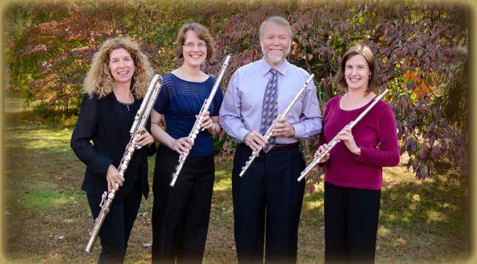 <b>(RESCHEDULED) Philadelphia Flute Quartet</b><br>Saturday, February 17 — 8:00 PM