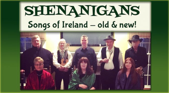 <b>Shenanigans</b><br>Friday, March 16 — 8:00 PM