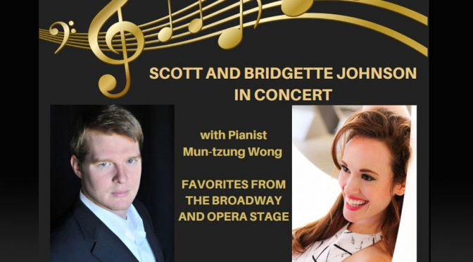 <b>Let's Duet: Bridgette and Scott Johnson in Concert</b><br>Sunday, May 27 — 3:00 PM