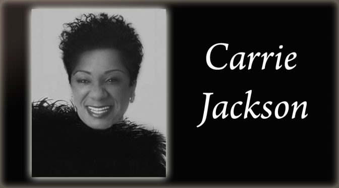 <b>Carrie Jackson Sings & Swings from the Great American Song Book</b><br>Saturday, June 16 — 8:00 PM