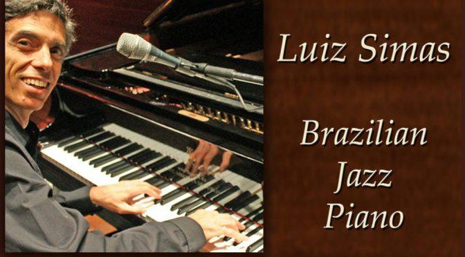 <b>Luiz Simas, Brazilian Piano Jazz</b><br>Saturday, November 3 — 8:00 PM