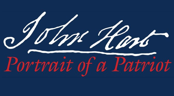 <b>John Hart: Portrait of a Patriot</b><br>Sunday, July 8 — 7:30 PM