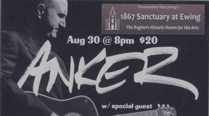 <b>Anker with Special Guest Brandon Broderick</b><br>Thursday, August 30 — 8:00 PM