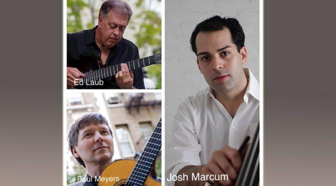 <b>Ed Laub Trio</b><br>Sunday, September 30 — 2:00 PM