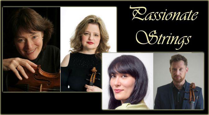<b>Passionate Strings Benefit Concert</b><br>Saturday, October 6 — 7:30 PM