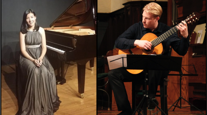 <b>Daniel Keene and Fang-Yi Chu, 20th Century Duets for Guitar and Piano</b><br>Wednesday, January 23 — 8:00 PM