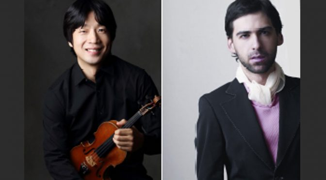 <b>Chamber Concert: Vladimir Dyo, Violin and Yoni Levyatov, Piano</b><br>Saturday, November 10 — 8:00 PM