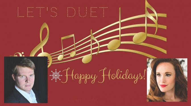 <b>Let's Duet: Happy Holidays! Scott & Bridgette Johnson</b><br>Saturday, December 1 — 8:00 PM