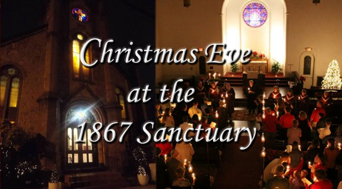 <b>Christmas Eve Service</b><br>Monday, December 24 — 8:00 PM