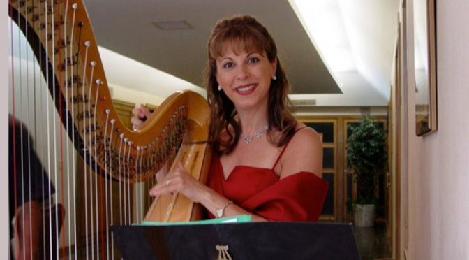 <b>Gloria Galante, Jazz Harp</b><br>Sunday, February 3 — 3:00 PM