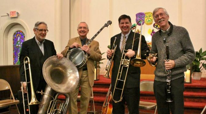 <b>Blue Skies Quartet: Mardi Gras Jazz</b><br>Saturday, March 9 — 2:00 PM