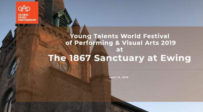 <b>Young Talents World Festival of Performing & Visual Arts 2019</b><br>Saturday, April 13 — 11:00 AM