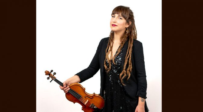 <b>Emerald Rae, Fiddler & Folksinger</b><br>Saturday, April 27 — 2:00 PM